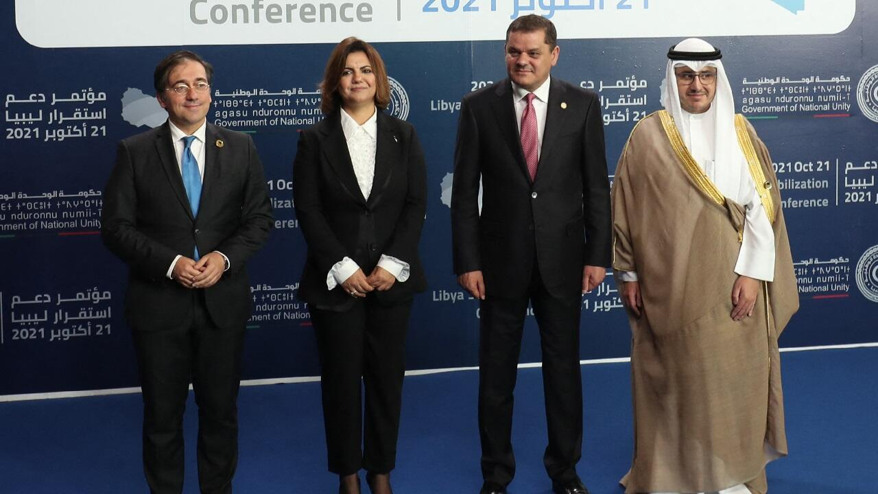 PHOTO Conférence Tripoli - 21 octobre 2021
