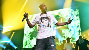 DMX, seen at a concert in New York in 2019, was on life support after suffering a heart attack, his lawyer said