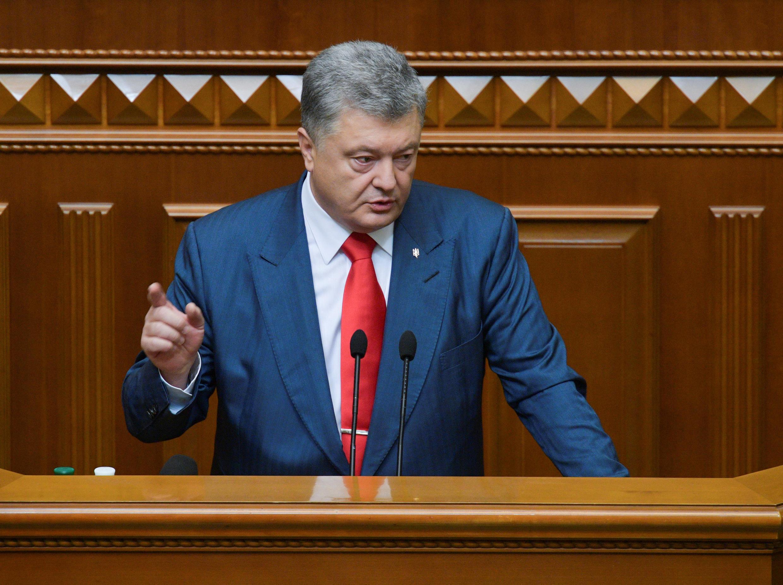Petro Poroshenko, Presidente da Ucrânia.