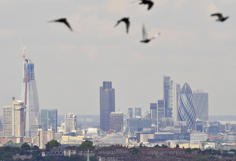 A City de Londres, centro financeiro da capital britânica