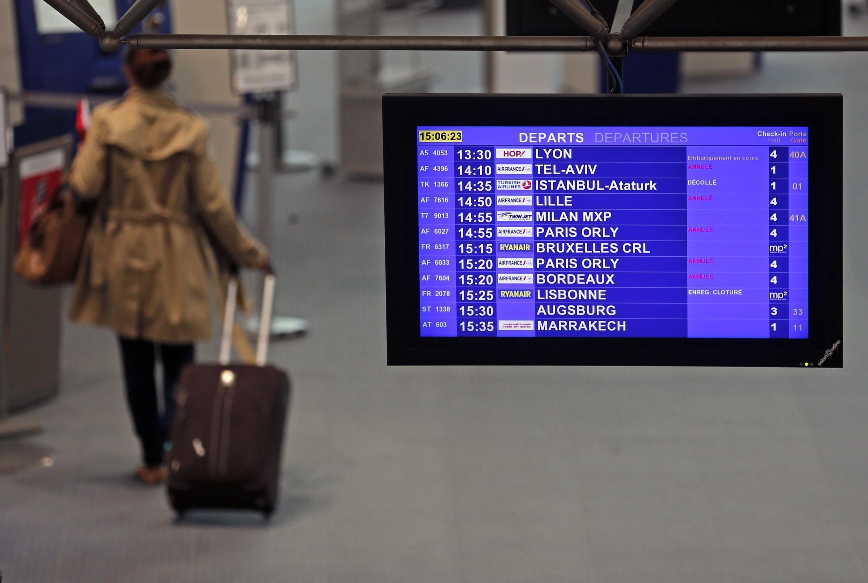 Aeropuerto de Orly, en las afueras de París.