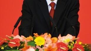 新当选北京市委书记郭金龙,2012年7月3日