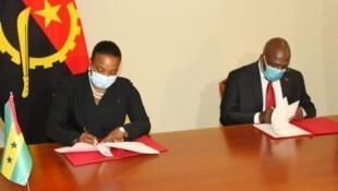 São Tomé e Príncipe - Angola - Governo - Vistos - Edite Ten Jua - Teté António