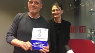 Stefano Massini et Nathalie Bauer, l'auteur et sa traductrice du «Livre des mots inexistants».