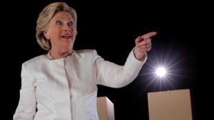 Hillary Clinton à Sanford, près d'Orlando en Floride, le 1er novembre 2016.