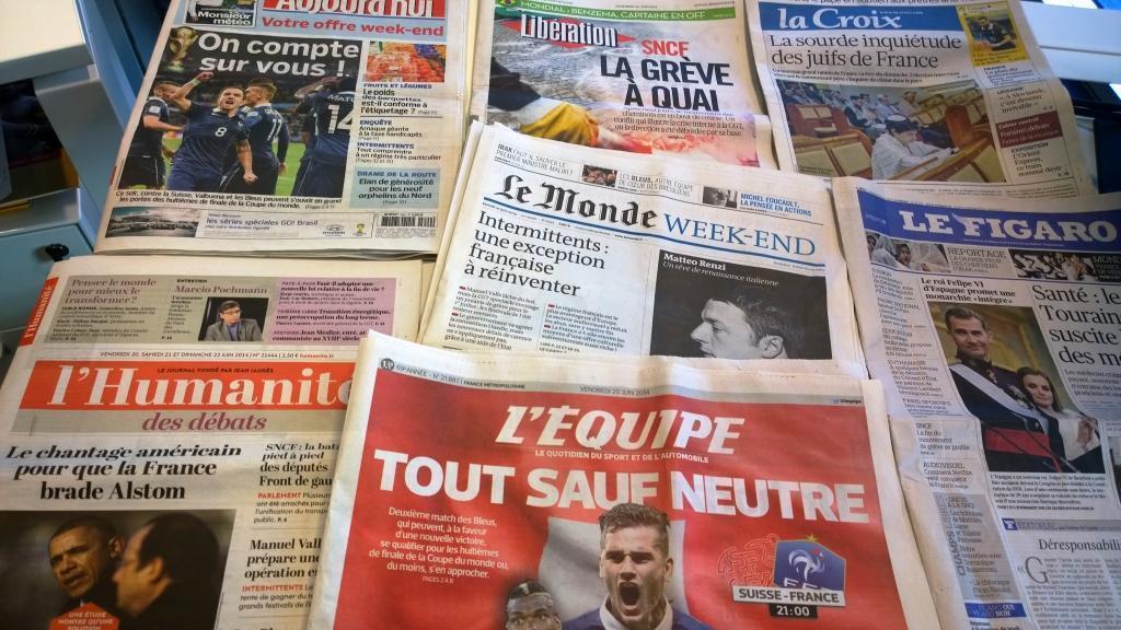 Diários franceses 20/06/2014