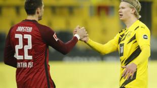 Erling Braut Haaland has scored 33 goals in 31 Borussia Dortmund games this season