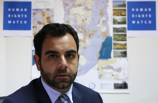 Omar Shakir, directeur de Human Rights Watch pour Israël et les Territoires palestiniens, peut être amené à quitter l'État hebreu.