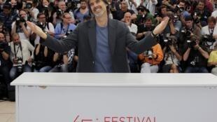 """O diretor brasileiro Walter Salles na estreia do seu longa """"Na Estrada"""" no Festival de Cannes"""