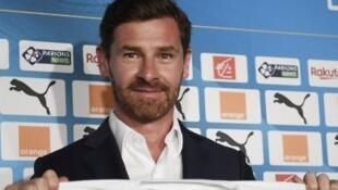 André Villas Boas, entraîneur de l'Olympique de Marseille.