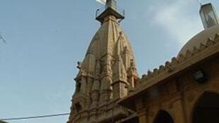 Le temple hindou Swaminarayan à Karachi fut le point de départ des migrants vers l'Inde durant la partition.