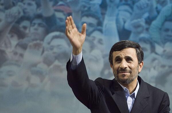 SHUGABAN Kasar Iran, Mahmud Ahmadenajad