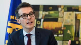Le nouveau représentant du FMI en Tunisie, Robert Blotevogel, le 26 février 2016.