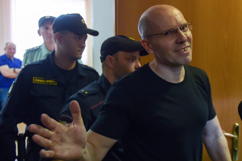 Игорь Рудников в Московском суде Санкт-Петербурга, 17 июня 2019.