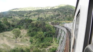 Kenya Railways Nairobi to Kisumu