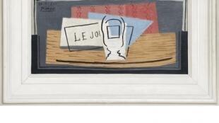 """O quadro """"Natureza morta"""", de Pablo Picasso, será o prêmio de uma loteria beneficente"""