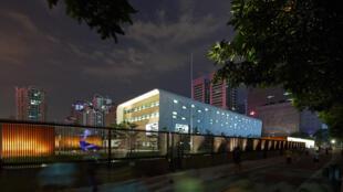 Consulado estadounidense en Guangzhou (ilustración).