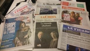 Diários franceses 18.01.2017