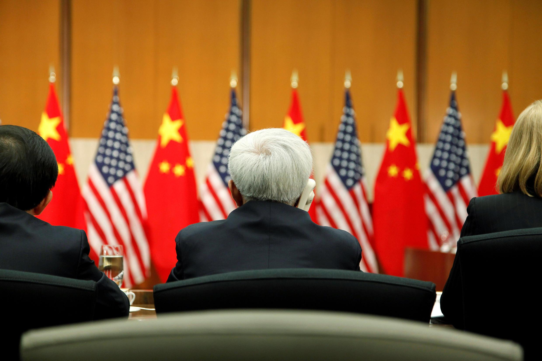 資料圖片:2013年7月11日在華盛頓舉行的中美戰略與經濟對話。
