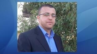O jornalista palestino Mohamed Al Qiq