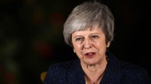 Thủ tướng Anh Theresa May tối hôm 12/12/2018.