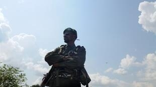 Un soldat FARDC.
