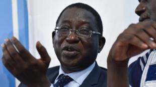 Le chef de file de l'opposition, Soumaïla Cissé, le 1er août 2018 à Bamako, Mali.