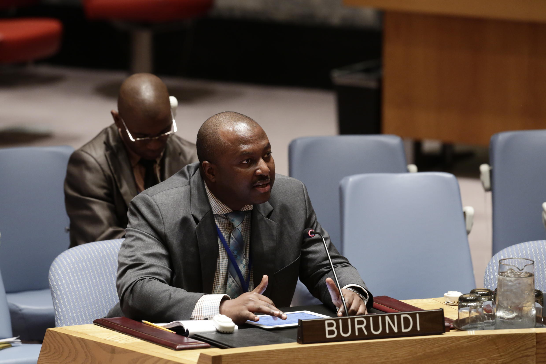 L'ambassadeur du Burundi aux Nations unies, Albert Shingiro.