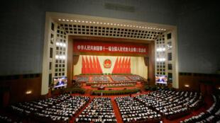 北京人民大會堂中國人大會場