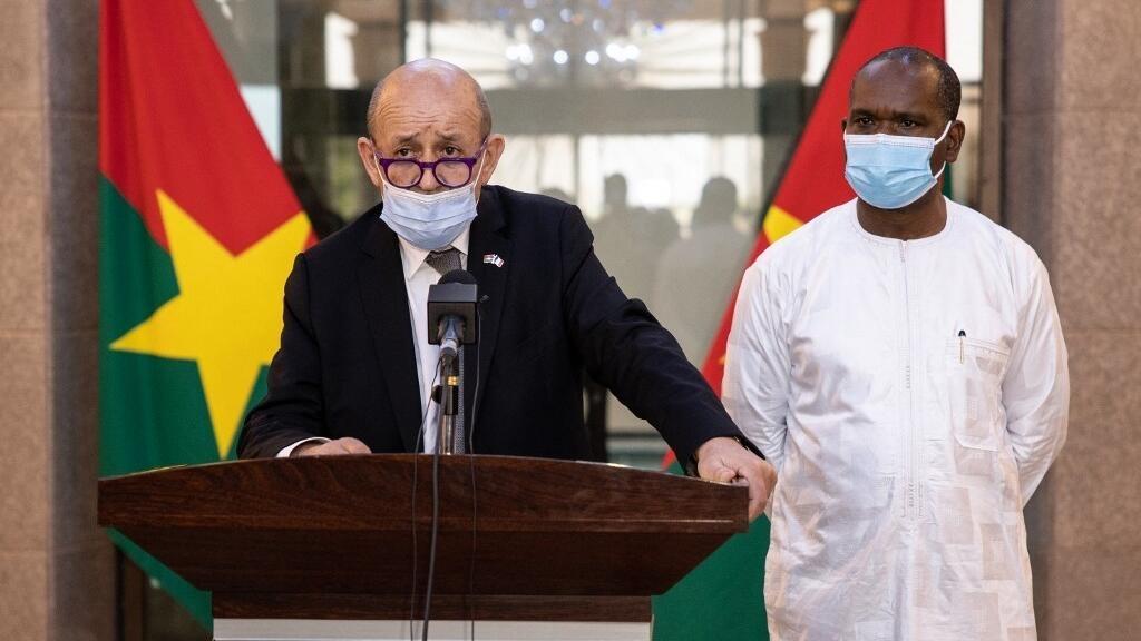 Barkhane : en visite au Burkina Faso, Le Drian revient sur les annonces de Macron