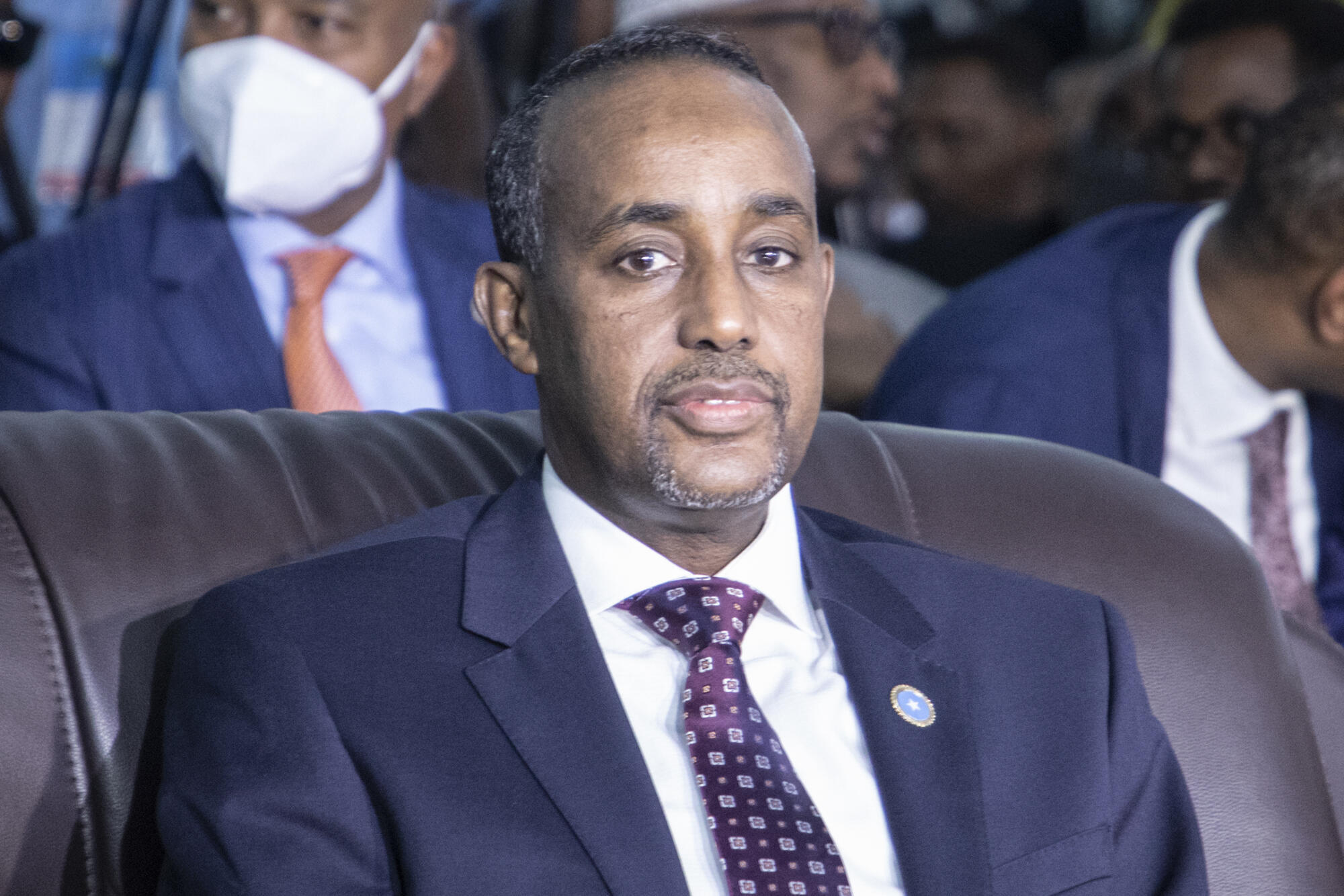 Somalia's Prime Minister Mohamed Hussein Roble was appointed by the president in September last year