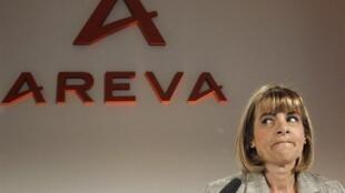 Anne Lauvergeon, la présidente du groupe français Areva.