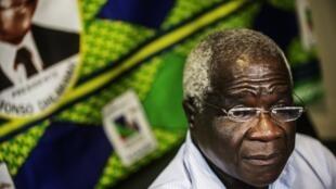 Líder da Renamo, Afonso Dhlakama. 11 de Outubro de 2014.