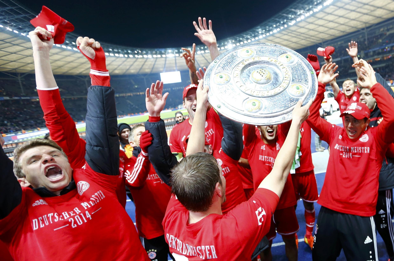 Pela 24ª vez da sua história nesta terça-feira, o Bayern de Munique sagrou-se campeão alemão  com vitória por 3 a 1.