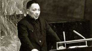 """""""文革""""初期被打倒了的鄧小平於1973年短暫復出"""