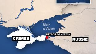 Bản đồ biển Azov