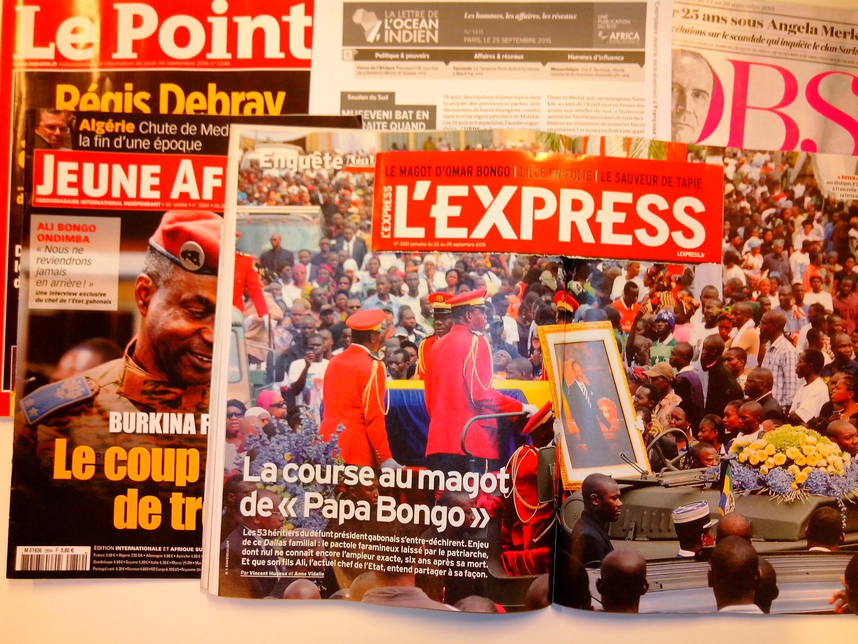 Imprensa Semanal e especializada francesas de 26 de setembro de 2015