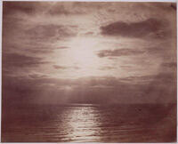 """Gustave Le Gray, """"Effect of sun on the clouds"""" - Océan"""" (1856-1857)"""