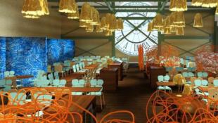 Os irmãos Humberto e Fernando Campana assinam o design do novo restaurante do museu d'Orsay.