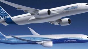 ایرباس اروپایی و بوئینگ آمریکایی تقریباً تمامی بازار هواپیماهای مسافربری جهان را در اختیار خود دارند