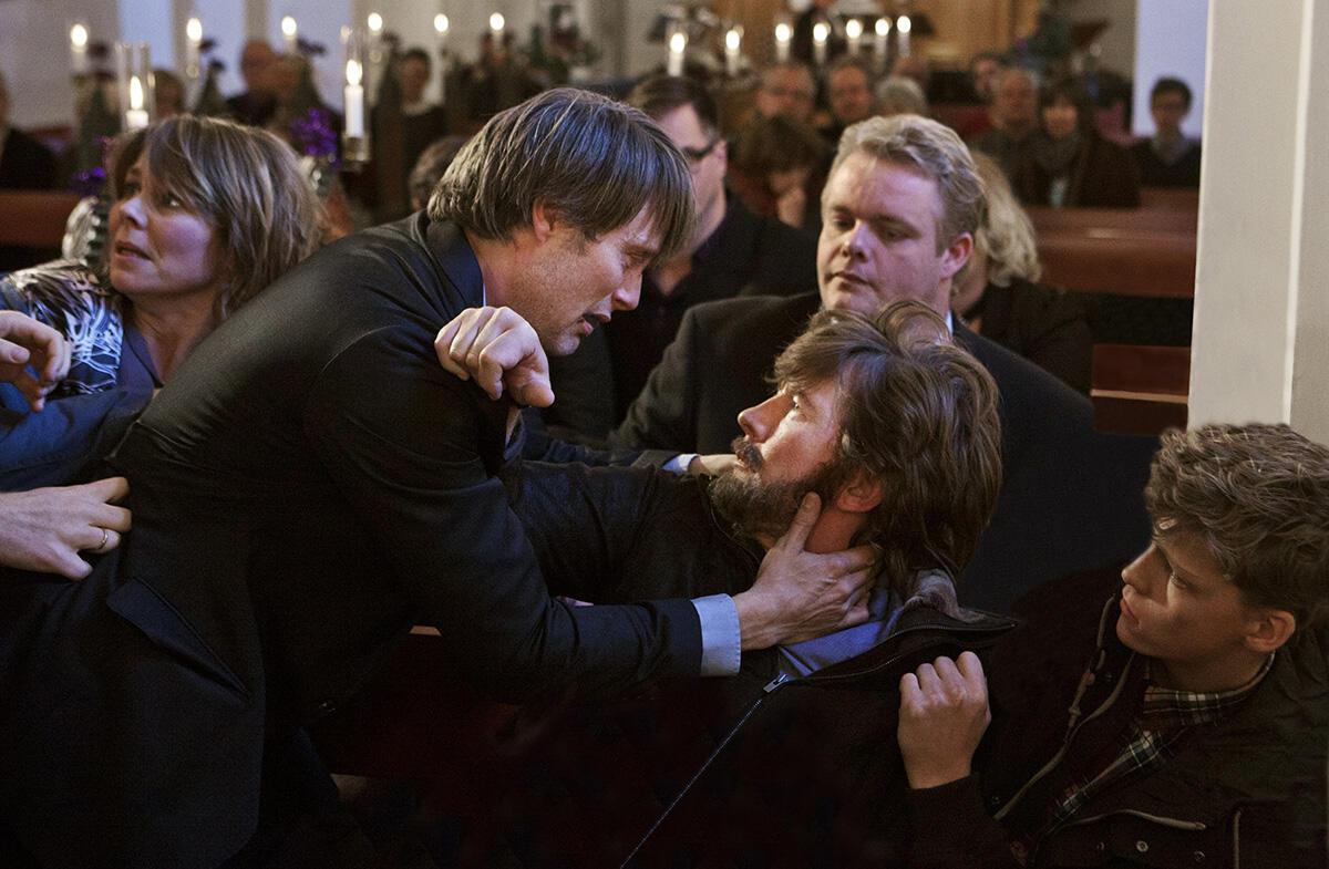 """Mads Mikkelsen incarne Lucas dans """"La Chasse"""" du réalisateur danois Thomas Vinterberg."""