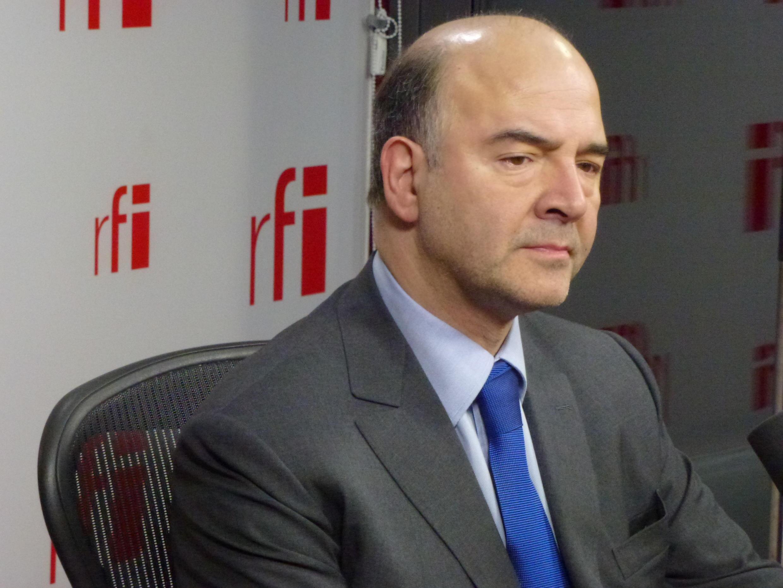 Министр экономики Франции Пьер Московиси (Pierre Moscovici)