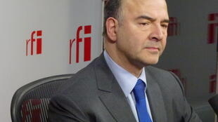 Economy Minister Pierre Moscovici