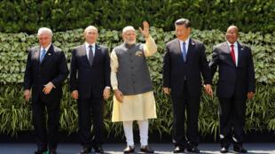ប្រមុខរដ្ឋ និងប្រមុខរដ្ឋាភិបាលទាំង ៥ប្រទេសសមាជិក BRICS