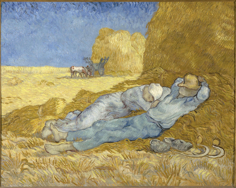 Полуденный отдых. Винсент Ван Гог. 1890