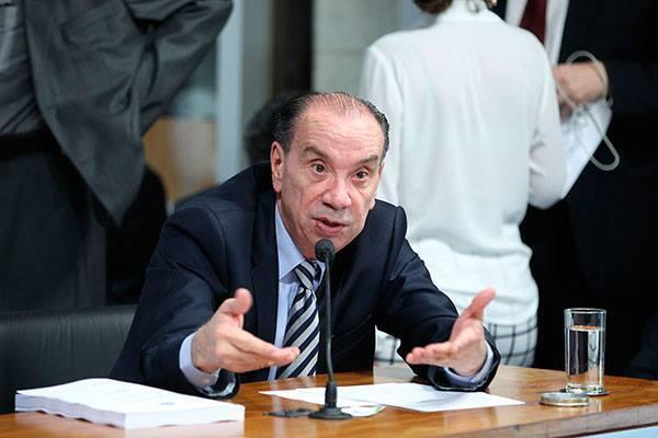O chanceler brasileiro Aloysio Nunes Ferreira