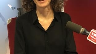 Estelle Maussion, autora de livro sobre a família dos Santos, na RFI a 1 de Outubro de 2019.