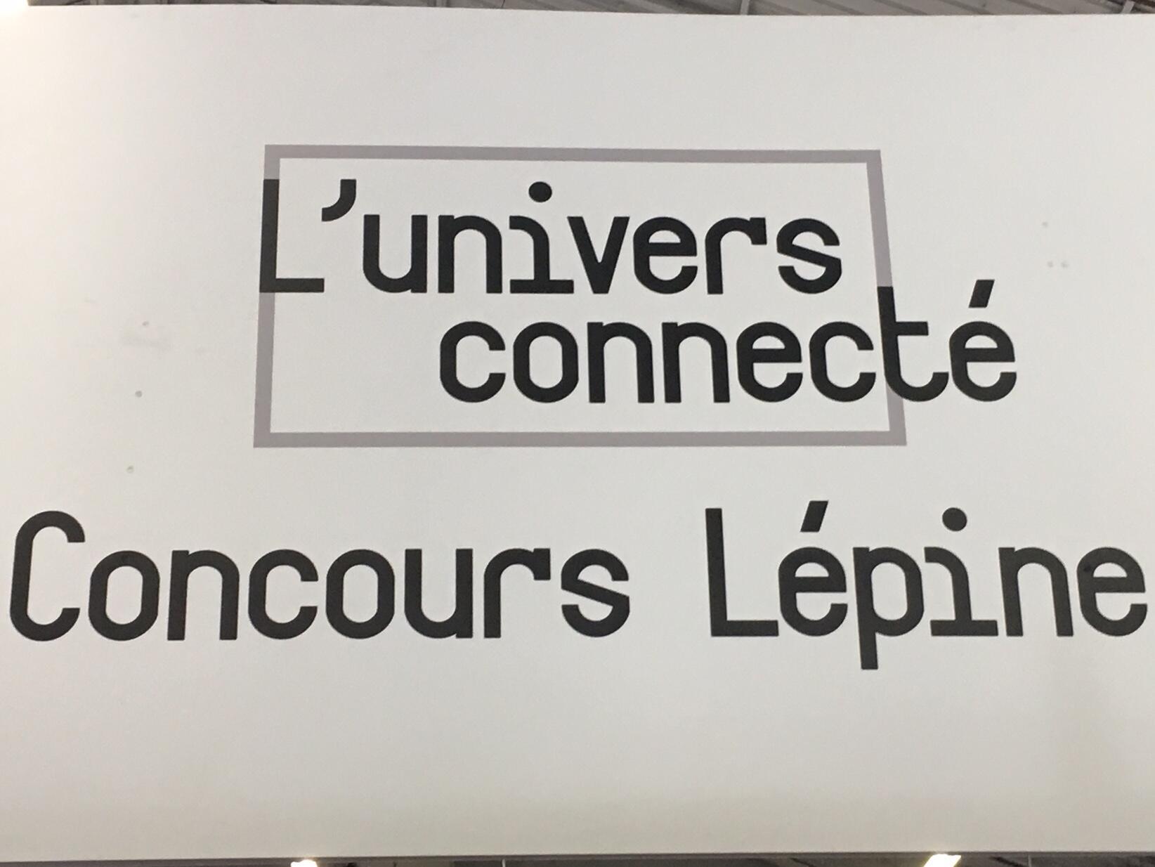 Khu trưng bày Thế giới kết nối Concours Lépine ra đời từ năm 2014, nhằm thích nghi với xu hướng phát triển về công nghệ cao.