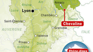 Chevaline, na região florestal da Alta Saboia, onde os corpos foram encontrados