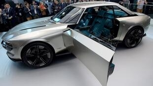 نمایش محصول جدید شرکت پژو در نمایشگاه خودرو پاریس